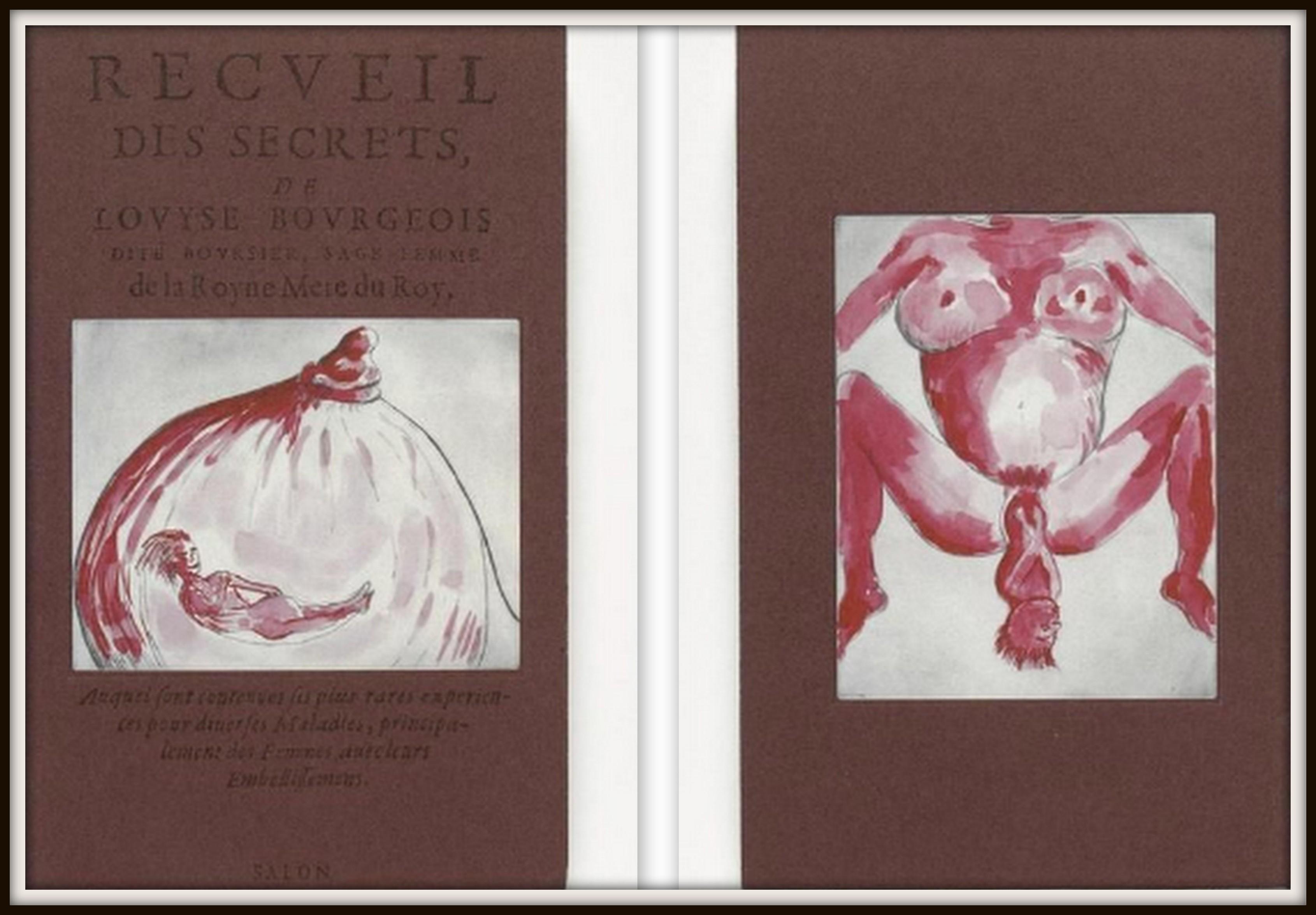 Le recueil de secrets par LOUISE BOURGEOIS - 2005