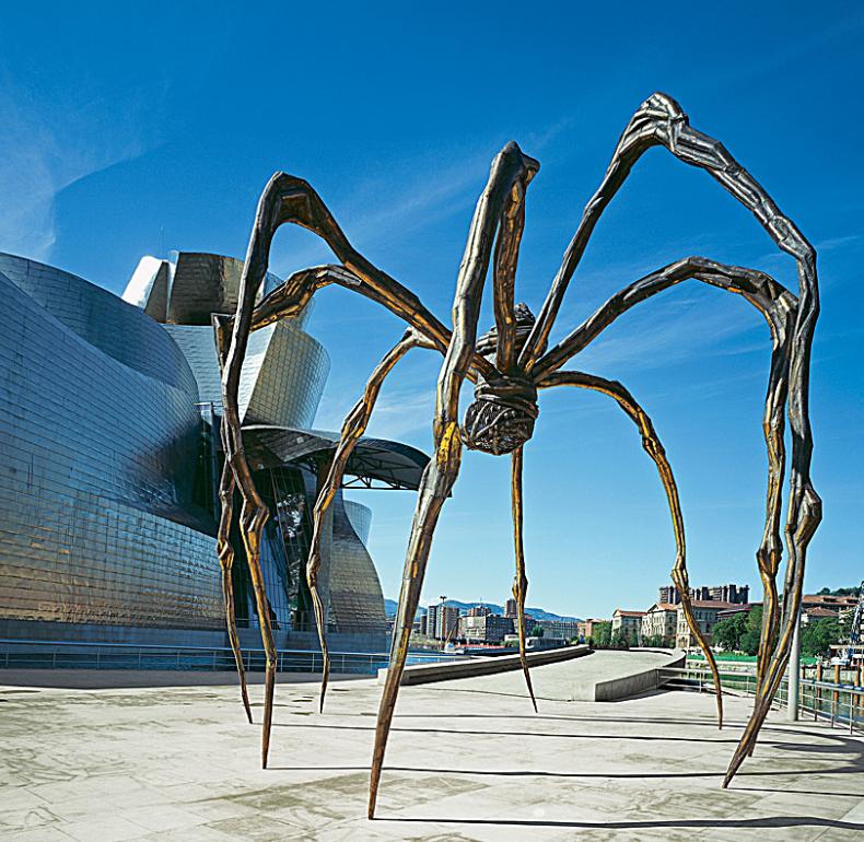 Maman de Louise Bourgeois© Guggenheim Bilbao Museoa