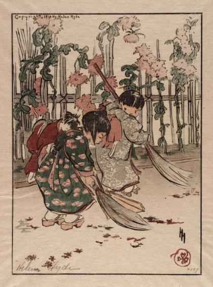 New brooms, Helen Hyde, (1868-1919), 1910
