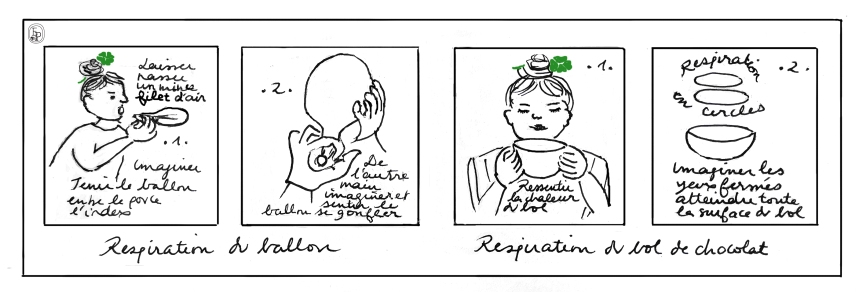 Soin des sens exercices Respiration III