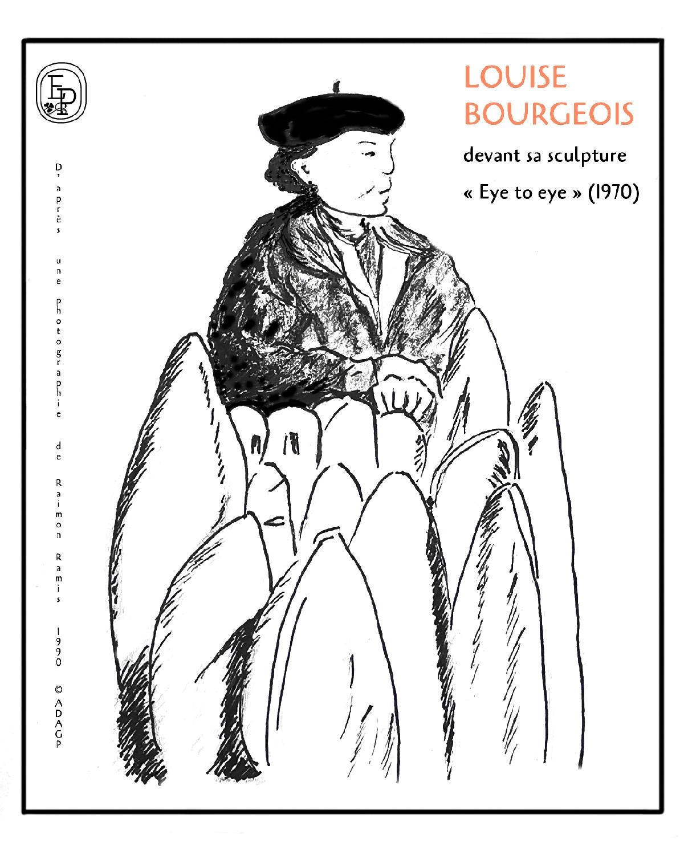Soin des sens louise bourgeois  emilie pruvost