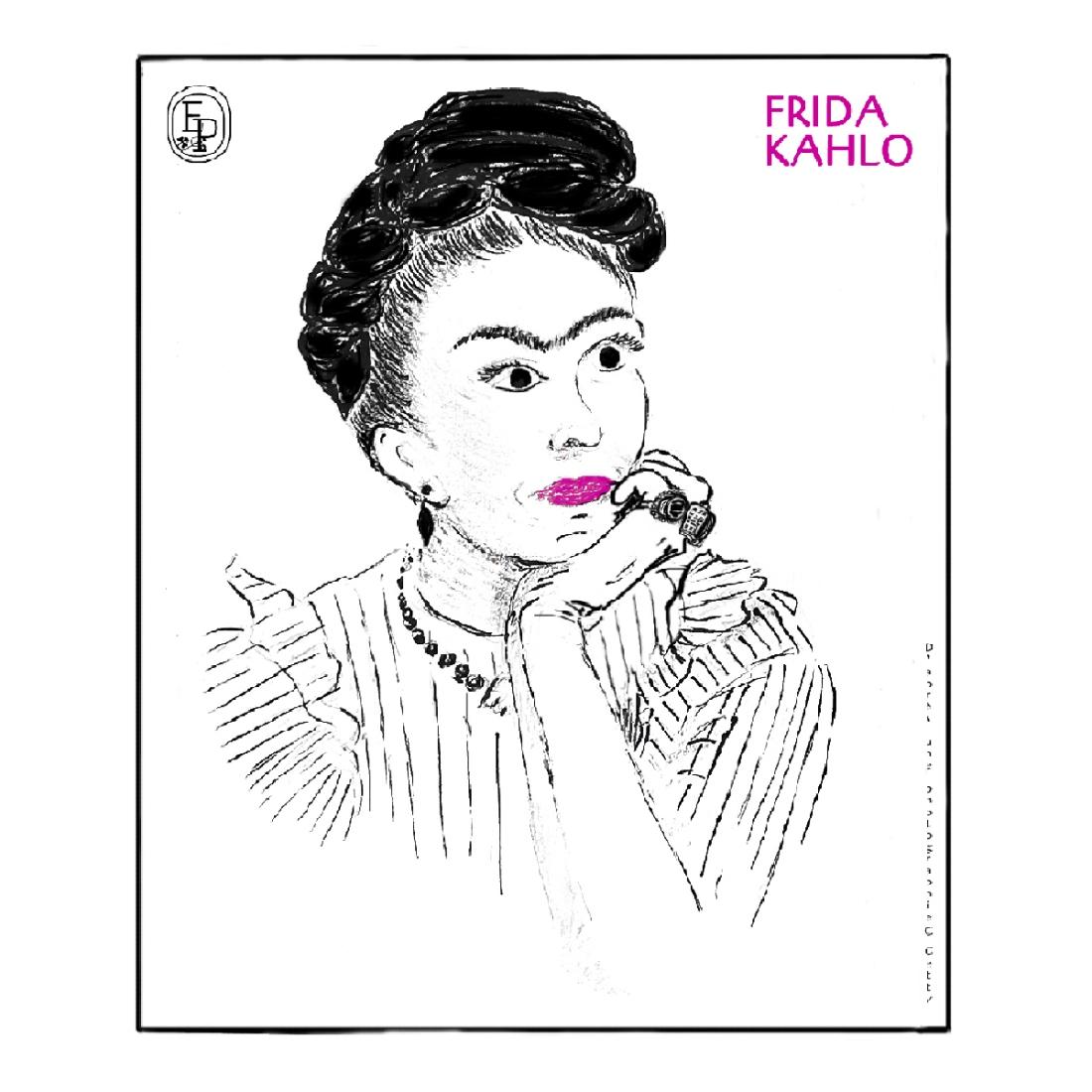 Frida kahlo Soin des sens © Emilie Pruvost