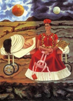 Arbol mantiente ferme Frida Kahlo