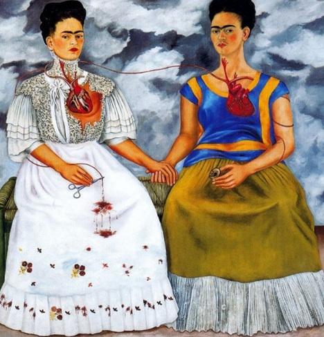 Les 2 Fridas frida kahlo