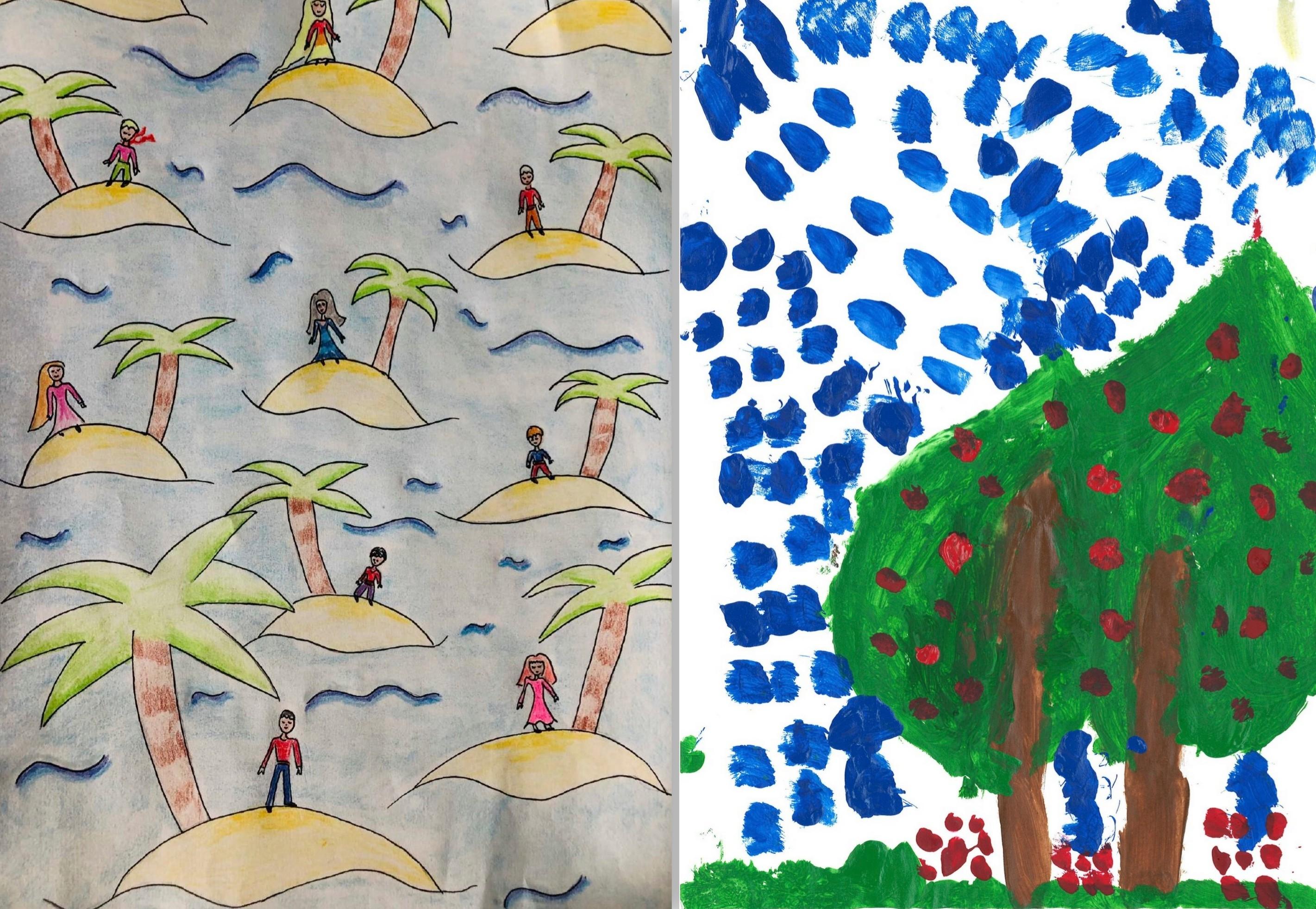 Exposition galerie kamel Mennour - Stella, 12 ans et Violette, 7 ans