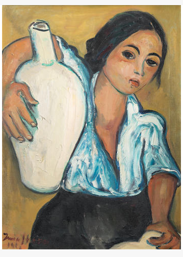 Girl with Jug © Irma Stern 1961