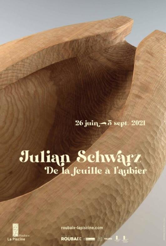 """""""De la feuille à l'aubier"""", Julian Schwarz, © musée La Piscine"""